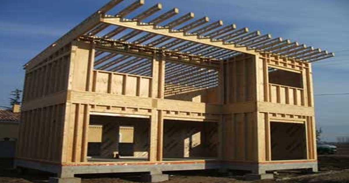 fabrication et isolation d 39 une maison ossature bois. Black Bedroom Furniture Sets. Home Design Ideas
