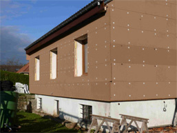 isolation extérieure écologique maison