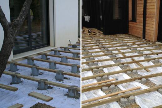 Terrasse Plot Beton