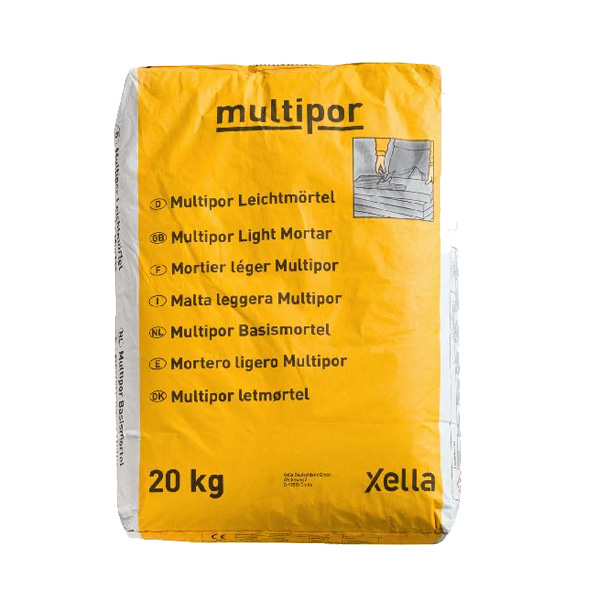 Mortier colle Multipor 20kg