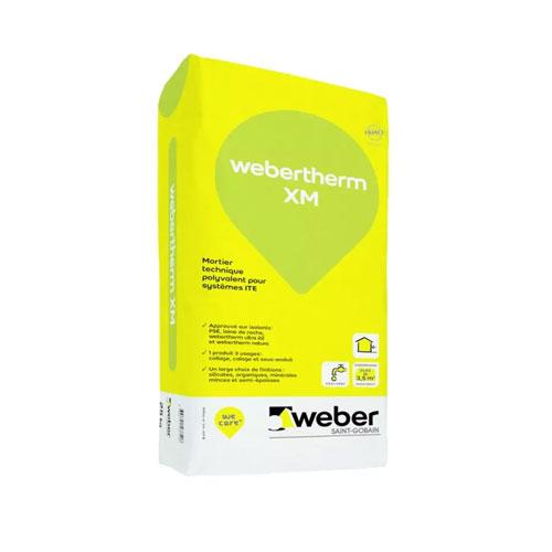 Enduit Extérieur Respirant Weber Therm Xm