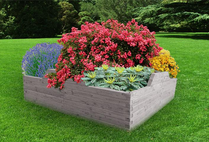 Jardin potager hors sol en bois jardiois acheter au for Jardin hors sol
