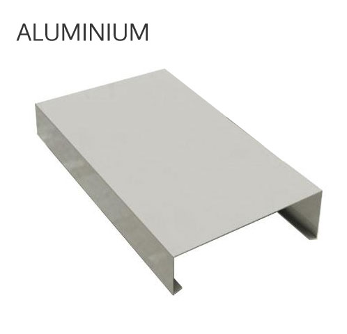 Couvertine aluminium sur mesure brut acheter au meilleur prix - Couvertine alu muret ...