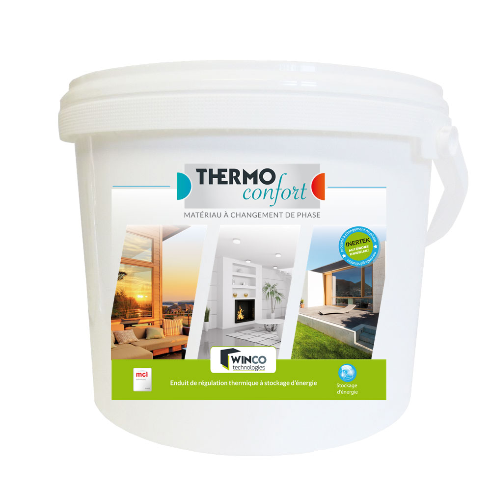 THERMO CONFORT - Enduit thermo régulant - Enduits isolants