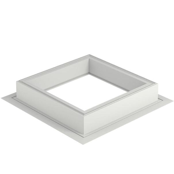 r hausse fen tre toit plat v lux hauteur 15cm 120x120cm zce0015 acheter au meilleur prix. Black Bedroom Furniture Sets. Home Design Ideas