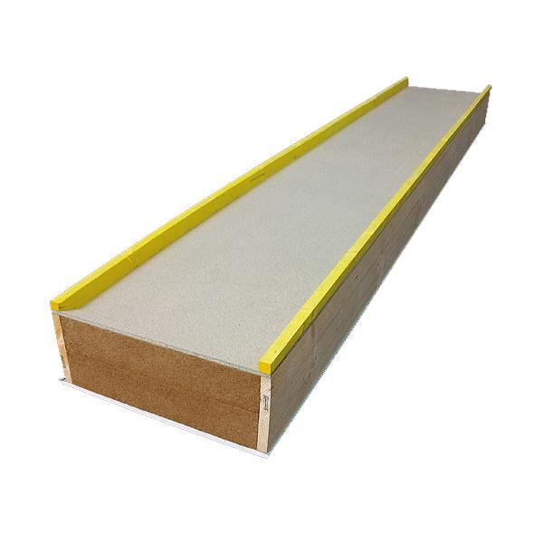 caisson chevronn type trilatte isol laine de bois 220mm finition plaque de platre hydro. Black Bedroom Furniture Sets. Home Design Ideas