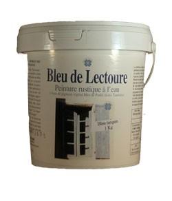 peinture rustique bleu de lectoure acheter au meilleur prix. Black Bedroom Furniture Sets. Home Design Ideas