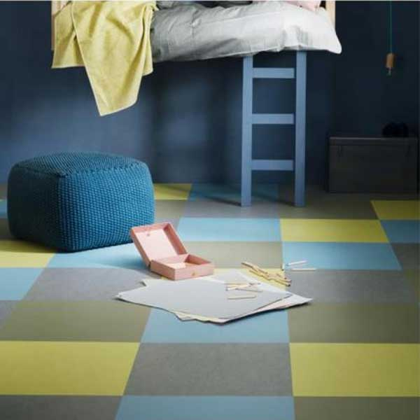 Dalle clipables Marmoleum click FORBO