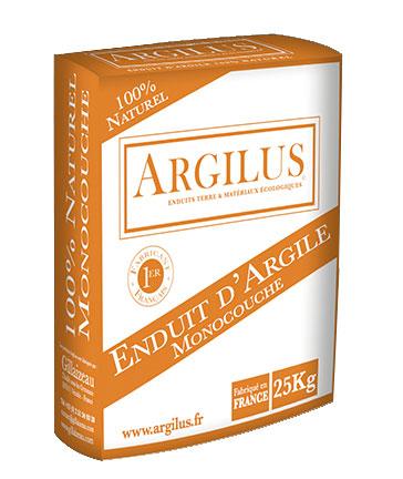 Enduit de terre argilus monocouche 25kg acheter au for Enduit a la chaux leroy merlin