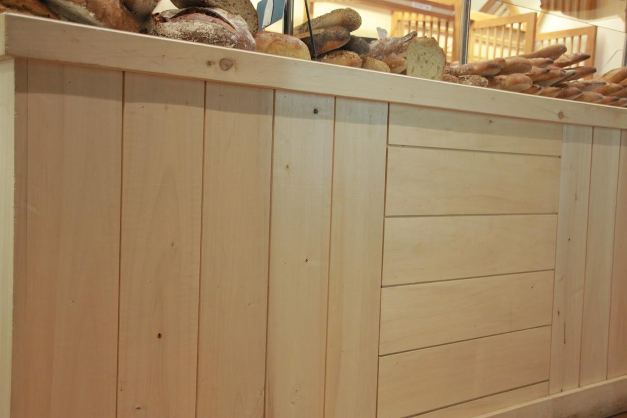 Lambris en bois de peuplier acheter au meilleur prix - Lambris mural large ...