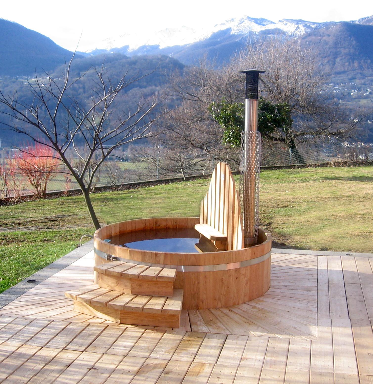 Spa En Bois Exterieur