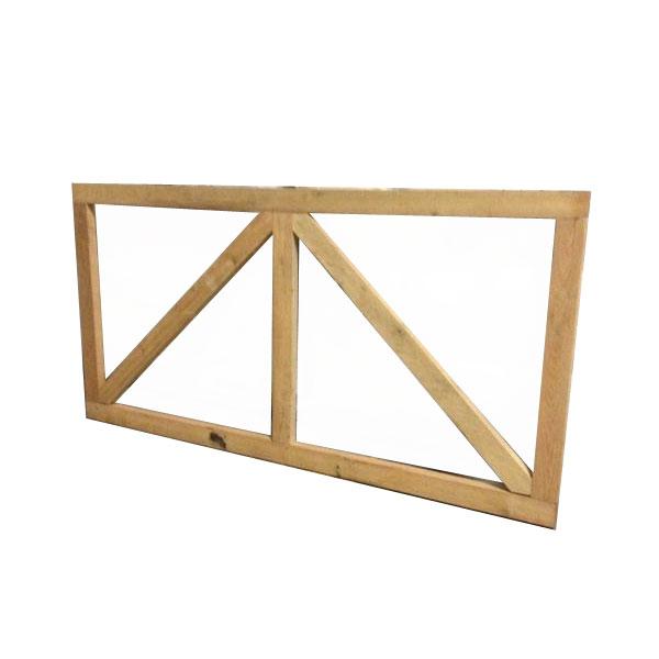 Portillon en bois de châtaignier - Acheter au meilleur prix