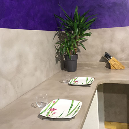 b ton cir haute r sistance terrazzo acheter au meilleur. Black Bedroom Furniture Sets. Home Design Ideas