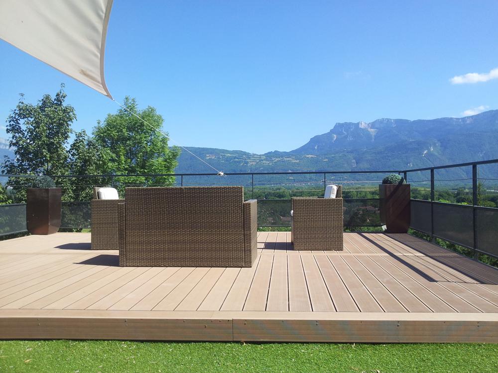 terrasse composite bois pvc acheter au meilleur prix. Black Bedroom Furniture Sets. Home Design Ideas