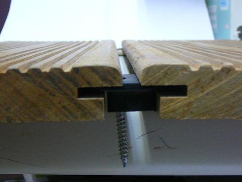 hardwood clip clips de fixation terrasse acheter au meilleur prix. Black Bedroom Furniture Sets. Home Design Ideas