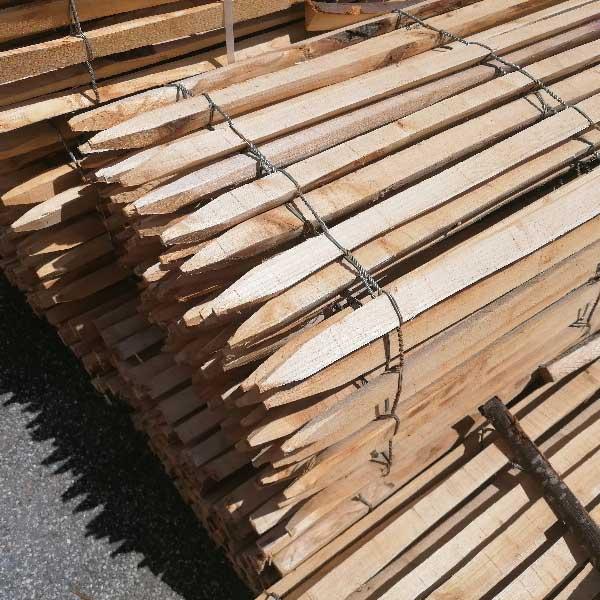 Ganivelle clôture en bois de châtaignier scié - Acheter au ...