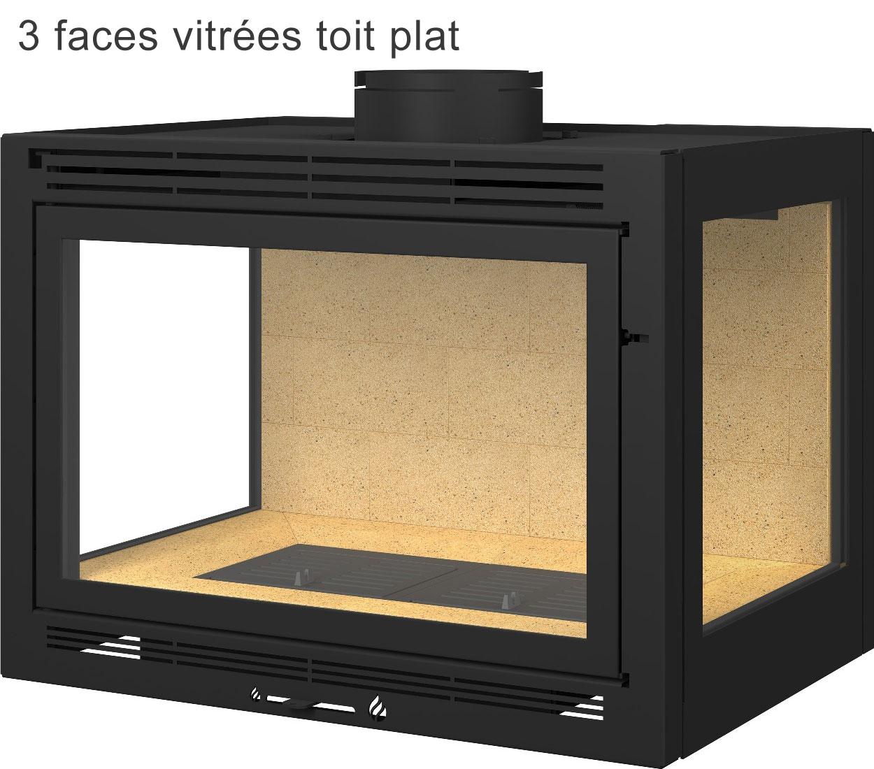 insert de chemin e sur mesure acheter au meilleur prix. Black Bedroom Furniture Sets. Home Design Ideas