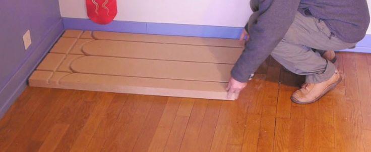plancher chauffant mince caleosol en fibre de bois 40mm sans lambourde avec per acheter au. Black Bedroom Furniture Sets. Home Design Ideas