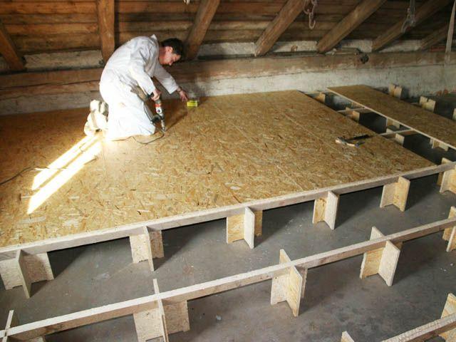 R hausseur plancher de combles woodyfix 40cm acheter au for Prix poutre en i osb