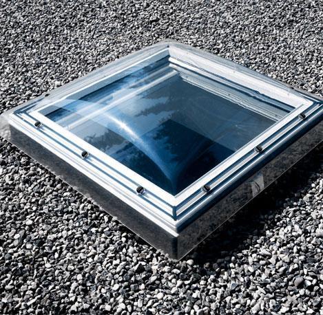Coupole acrylique pour fen tre de toit velux coupole opale for Fenetre 80x80