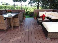 terrasse chanvre composite cologique 22x145 marron fonc acheter au meilleur prix. Black Bedroom Furniture Sets. Home Design Ideas